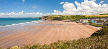 Broad Haven beach, 1.5 miles from Mountain Farm