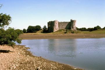 Carew Castle, 15 miles from Mountain Farm http://www.pembrokeshirecoast.org.uk/default.asp?PID=262