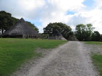 Castell Henllys, 26 miles from Mountain Farm http://www.pembrokeshirecoast.org.uk/default.asp?PID=261
