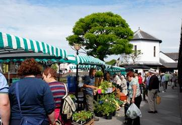 Haverfordwest (nearby town 5 miles from Mountain Farm) Friday market