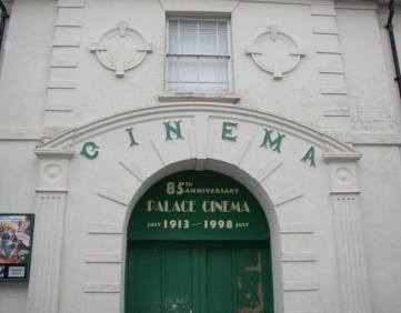 The Palace Cinema, Haverfordwest, 5 miles from Mountain Farm