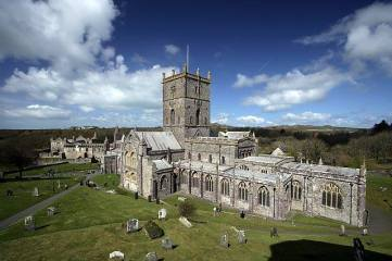 St. David's Cathedral, in St. David's. 16 miles from Mountain Farm. St. David's also has lovely gift shops, pubs and restaurants.